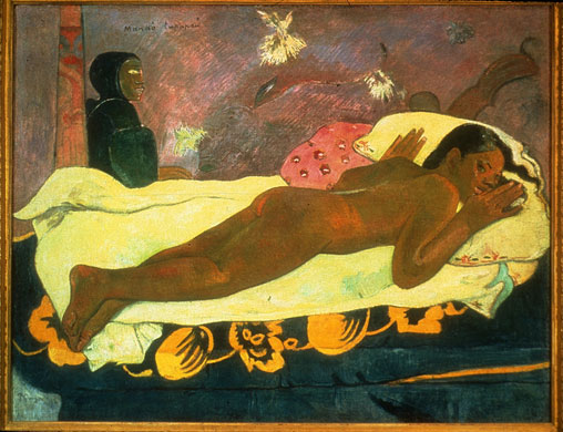 gauguin-spirit-of-the-dead-watching-1892